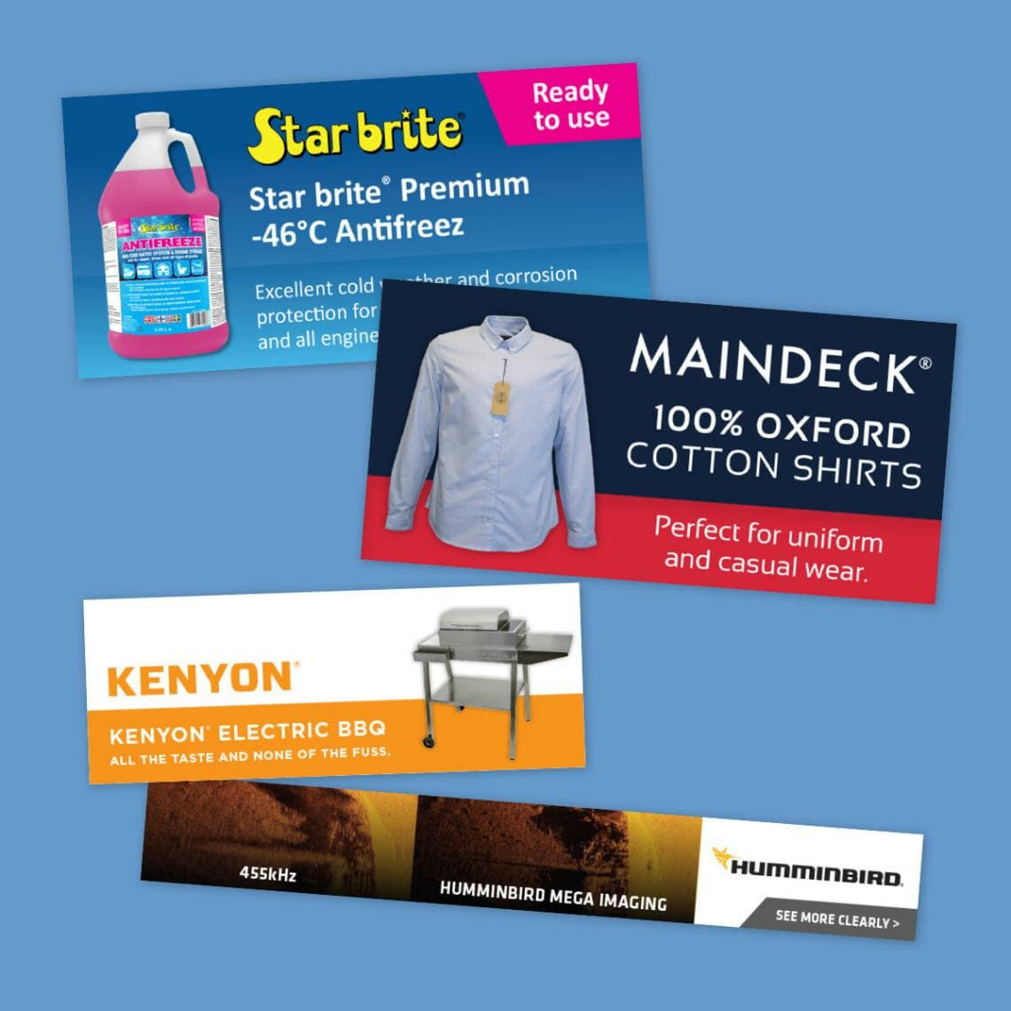 Web banners Hampshire