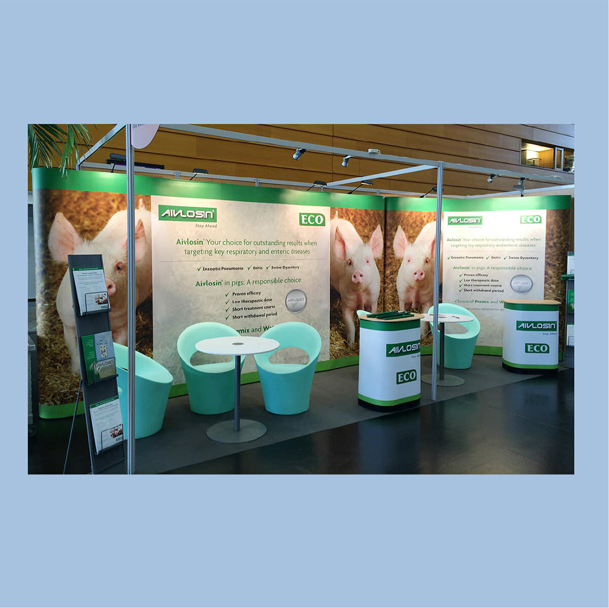 Pop up stands Hampshire